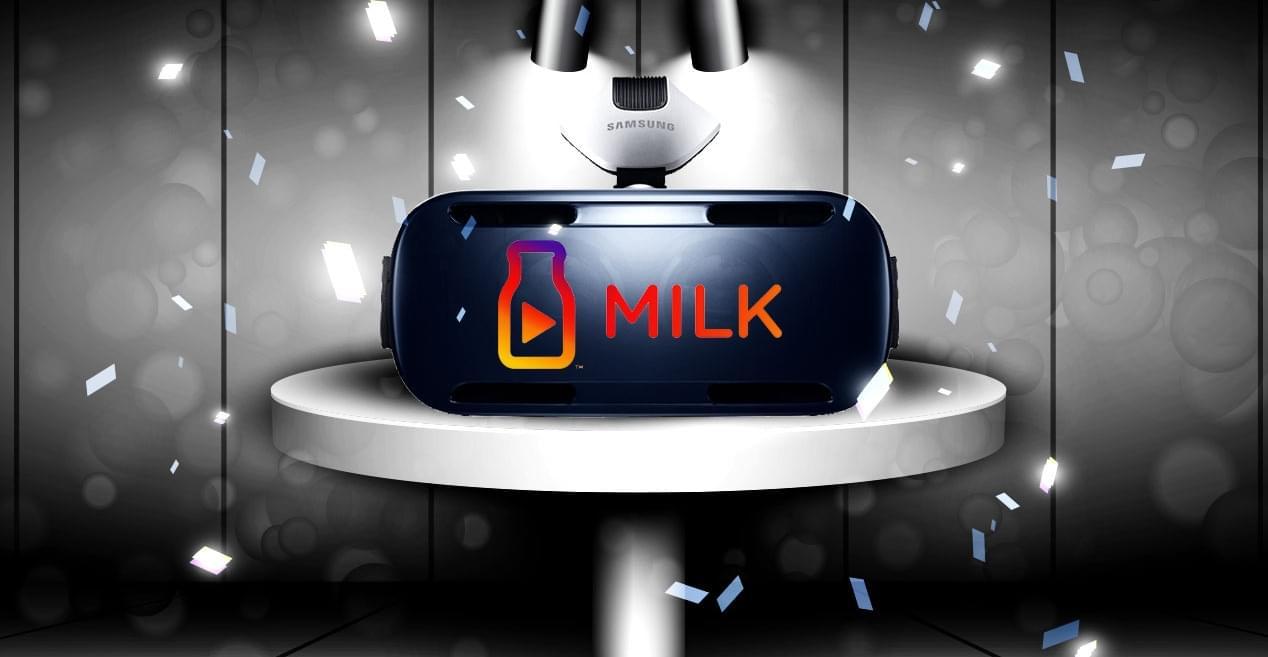 Milk VR от Samsung – возможность погрузиться в виртуальную реальность без гарнитуры