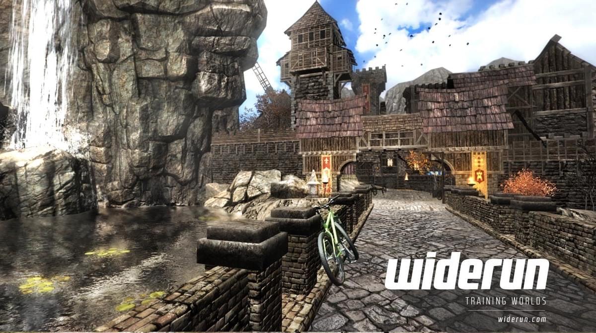 Новые способы использования виртуальной реальности: выпуск специального тренажера Widerun