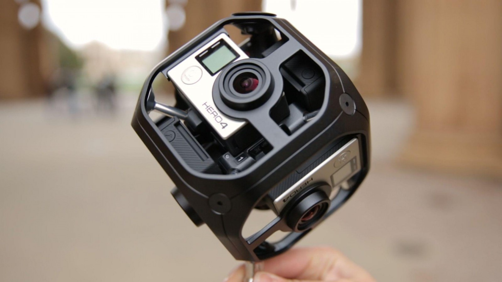 Камера виртуальной реальности Omni VR, выпущенная GoPro, или В чем особенность снятых на нее роликов?