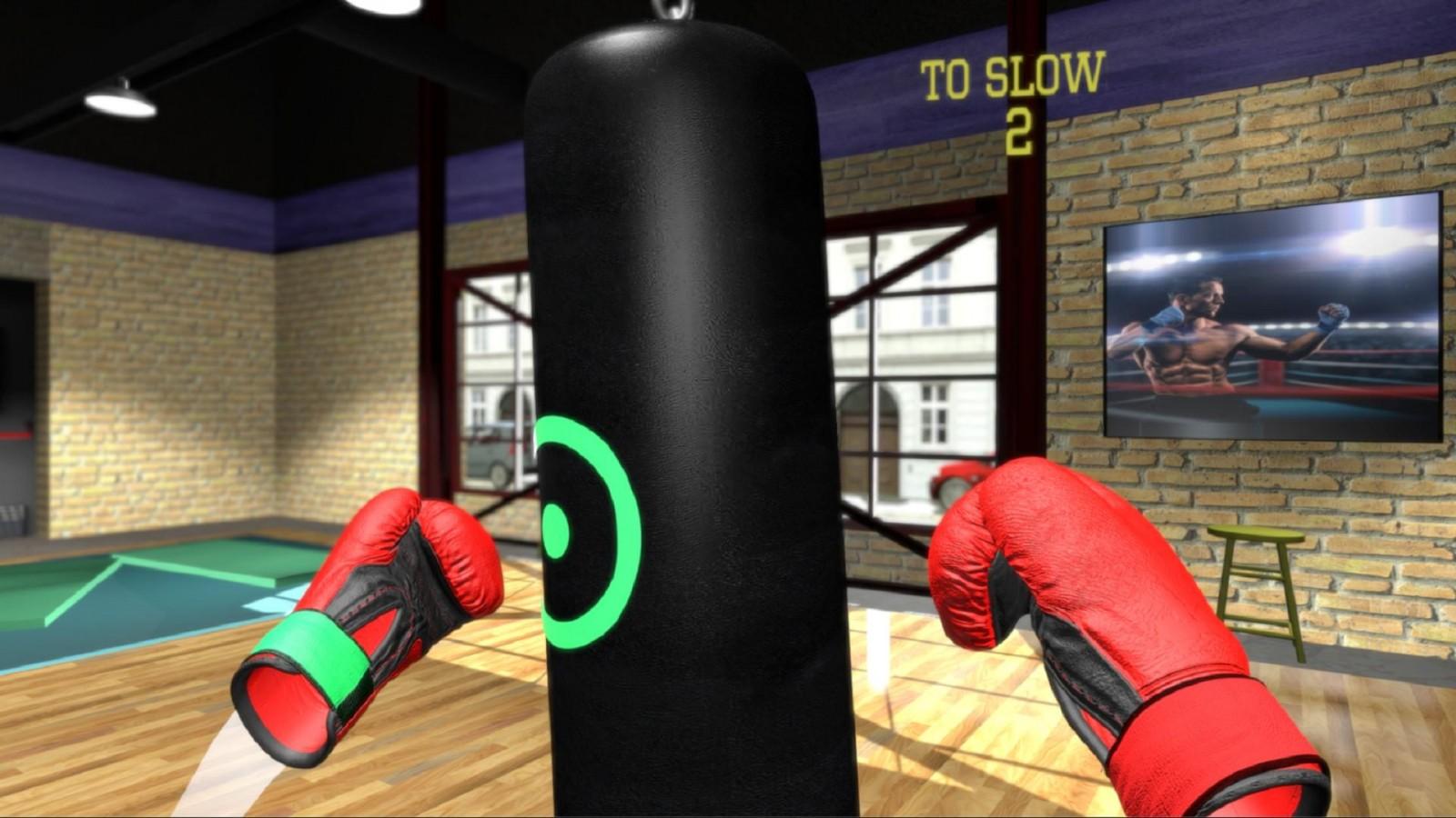 VR Boxing Workout, или Как оказаться в спортзале, не выходя из дома?