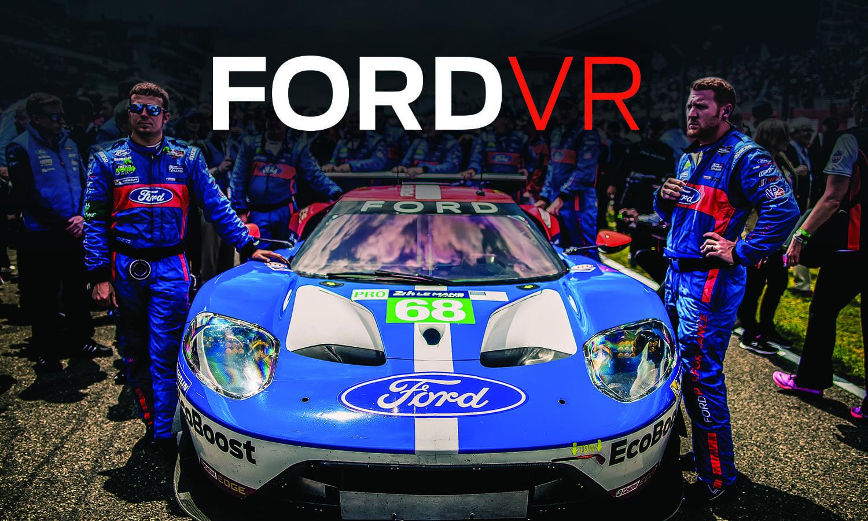 Гонки Le Mans теперь можно посетить в приложении Ford VR