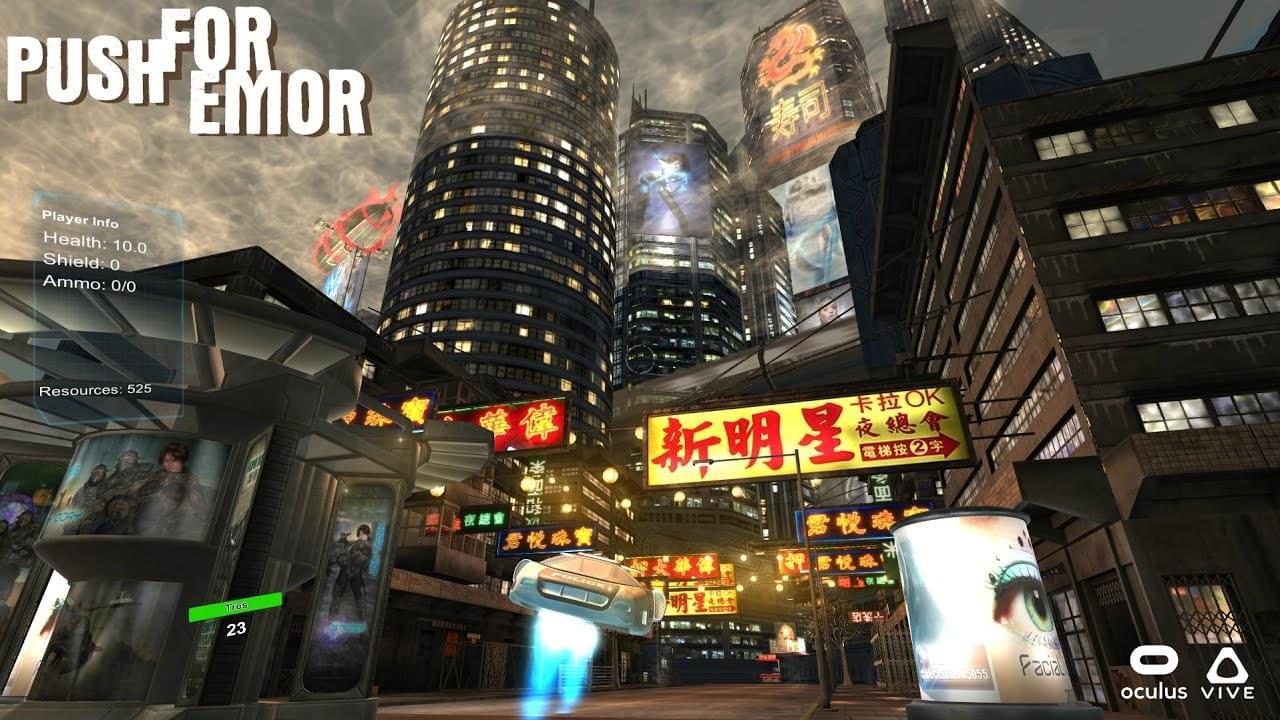 Новая VR игра: Push For Emor