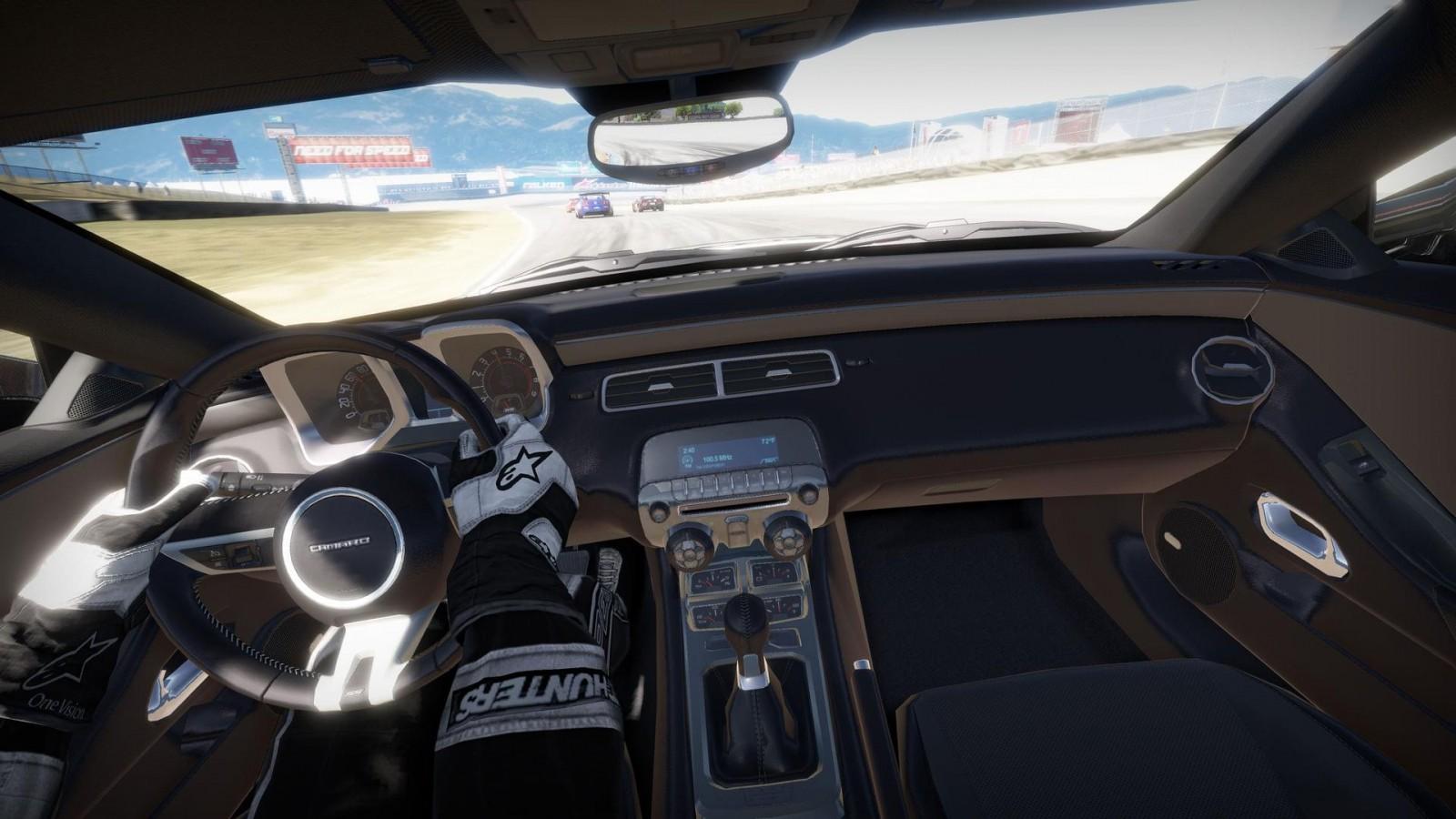 VR версия Need for Speed с видом из салона