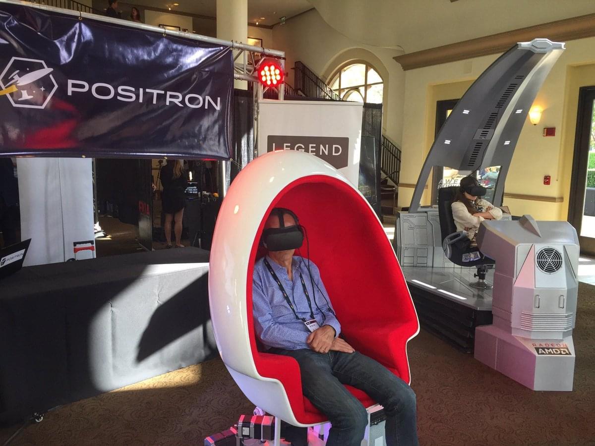 VR кресло Voyager от Positron