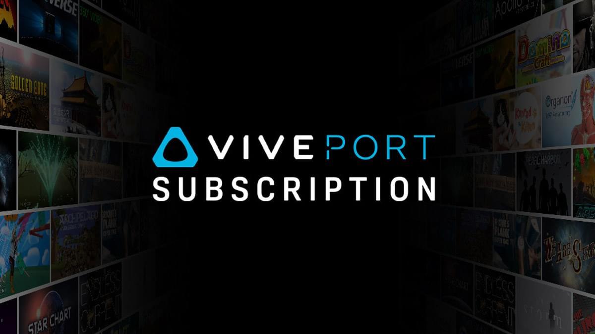 Ежемесячная подписка на VR контент от HTC