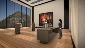 Виртуальный музей с 3D картинами в Steam