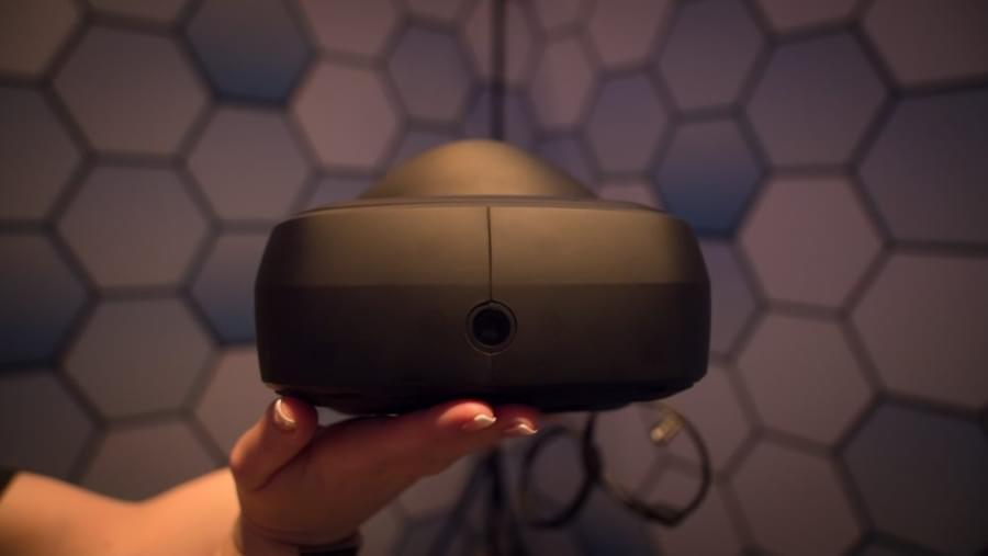 Гаринитура LG SteamVR на корейском VR фестивале