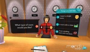MondlyVR поможет быстрее выучить языки