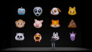 Новые анимоджи уже в новом iPhone X