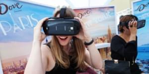 Шоколад Dove подарит нам свое видение VR