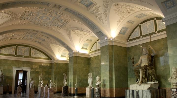 Проект по созданию виртуальной модели зала Юпитера Государственного Эрмитажа