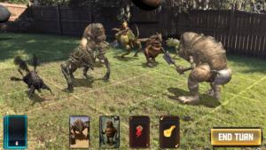 HoloGrid: Monster Battle в AR