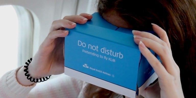 Авиакомпания KLM запустила VR-приложение для симуляции рейсов премиум-класса
