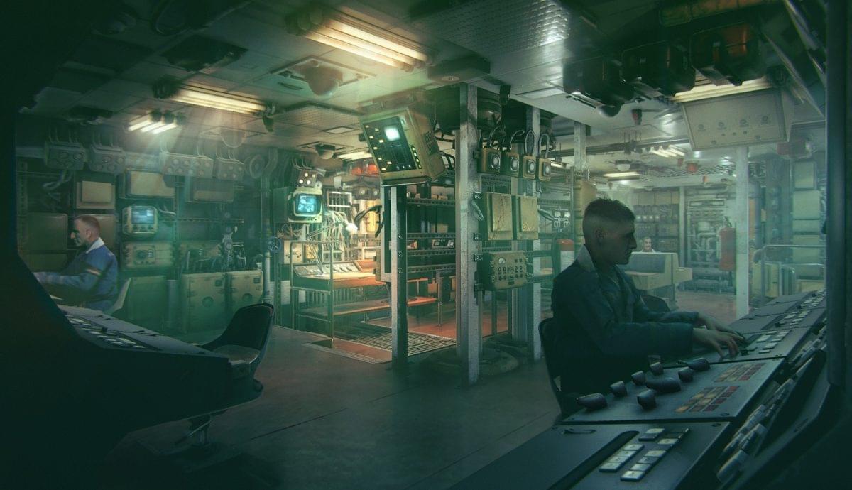 VR поддержка для игры про подводную лодку Курск