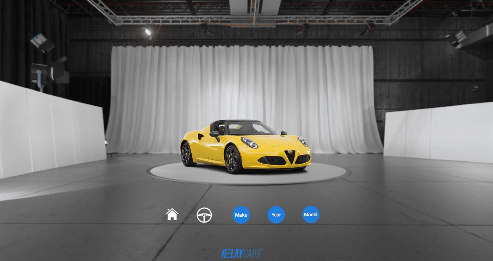 Обновление для VR приложения RelayCars