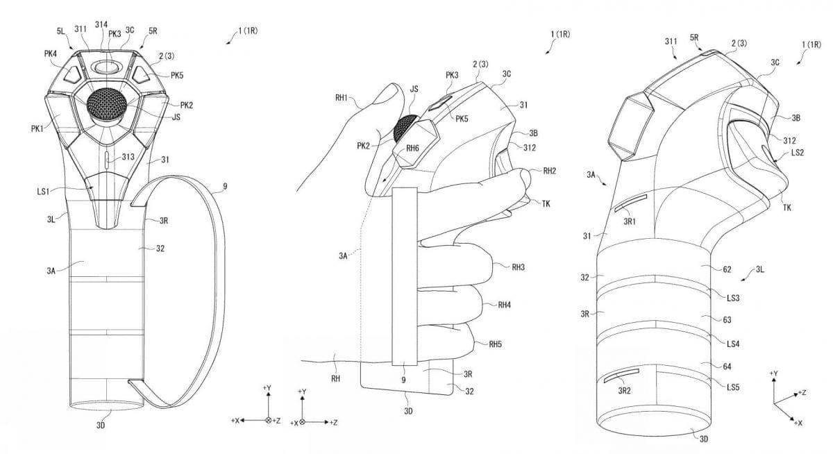 Sony, возможно, подала патент на новые контроллеры