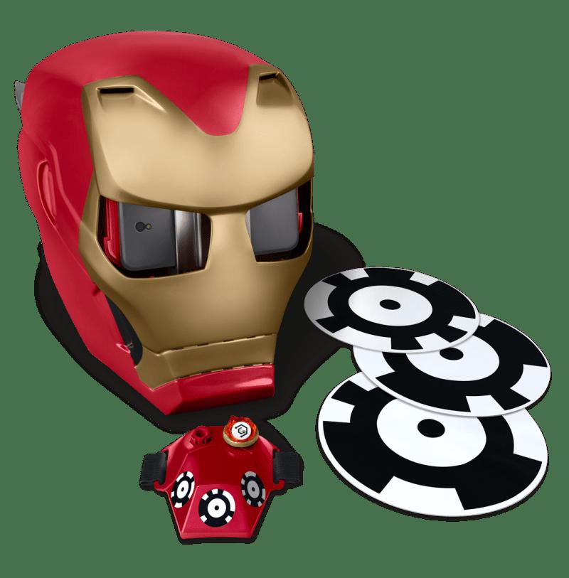 AR гарнитура в виде шлема Тони Старка
