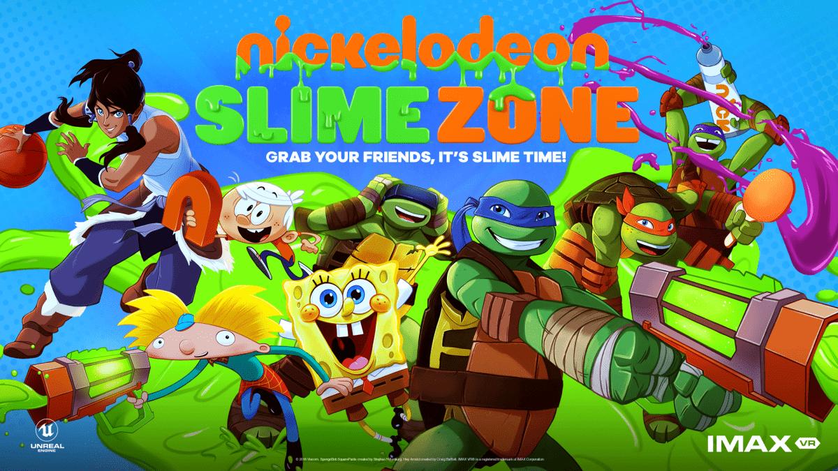 Nickelodeon внедряет SlimeZone в IMAX VR