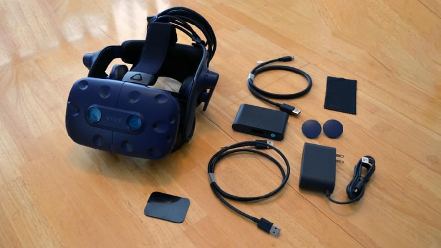Комплект Vive Pro с базовыми станциями 2.0 и контроллерами уже доступен по цене $ 1400