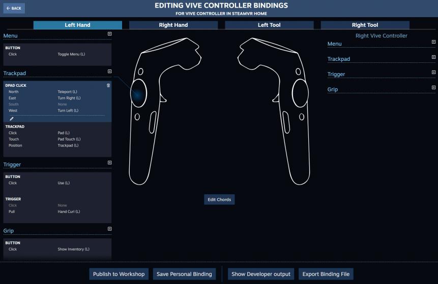 SteamVR представляет новую систему ввода данных