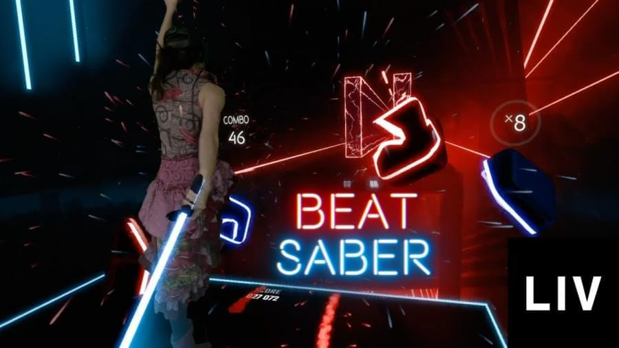 VR хит Beat Sabre: играйте, веселитесь и сжигайте калории