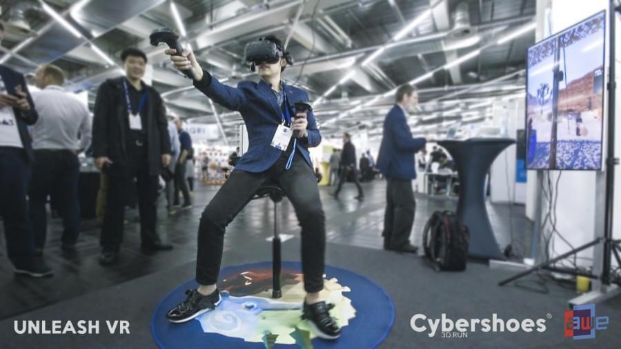 Сделайте шаг в виртуальную реальность с Cybershoes