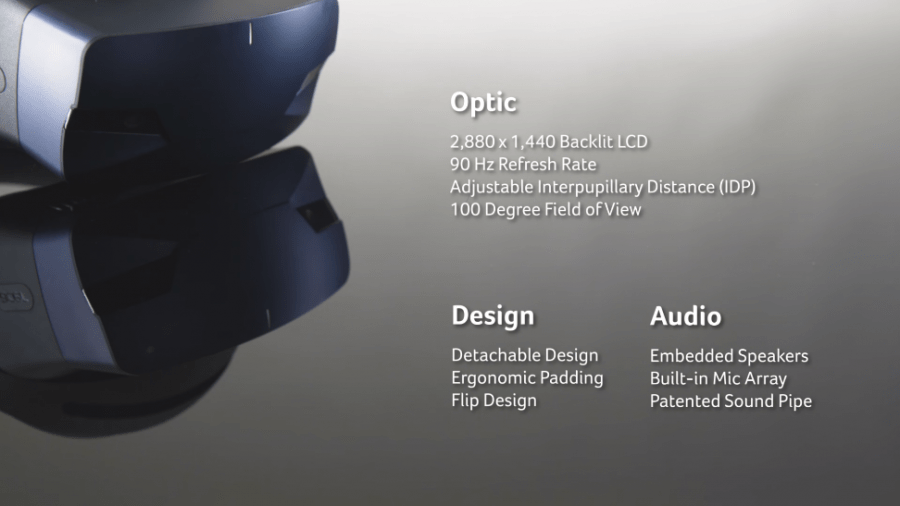 Acer анонсировал обновленную гарнитуру Acer OJO 500 Windows Mixed Reality