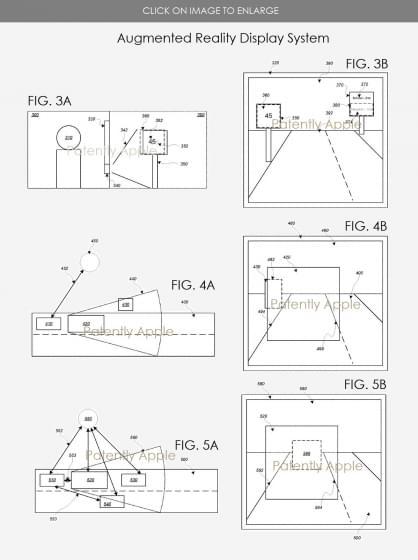 Apple патентует AR технологию для лобового стекла