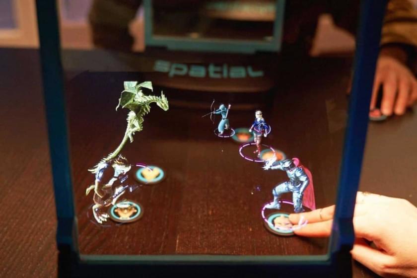 Spatial объединит настольные игры с голограммами, чтобы создать идеальный игровой MR опыт