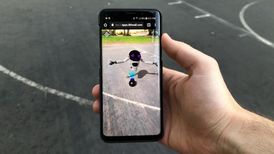 8th Wall предлагает новый способ взаимодействия с AR-контентом в мобильном веб-браузере