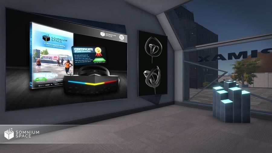 Pimax откроет виртуальный магазин на платформе Somnium Space
