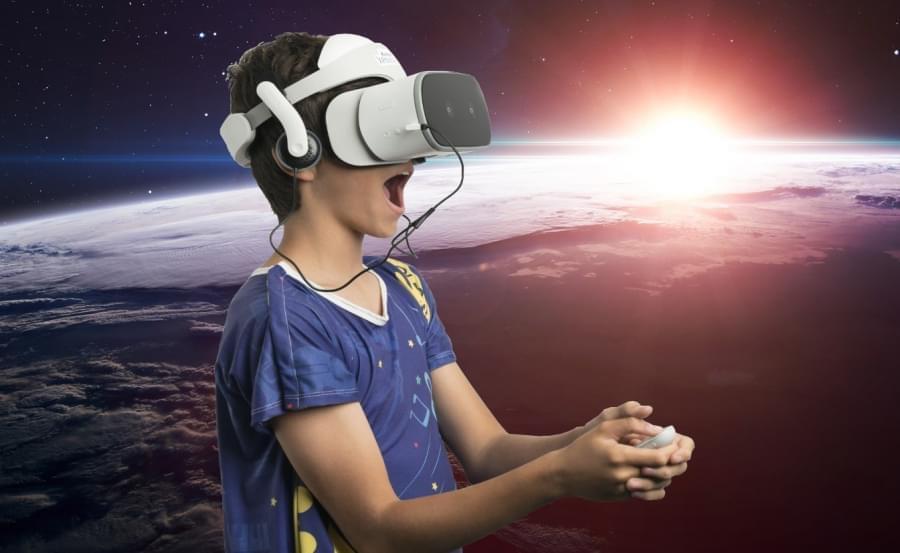 Starlight и Lenovo Mirage Solo откроют госпитализированным детям мир виртуальной реальности