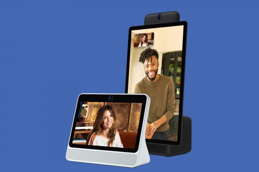 Facebook представляет устройства для AR видеозвонков