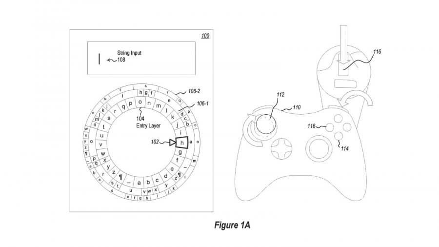 Патент Microsoft демонстрирует систему ввода текста в VR