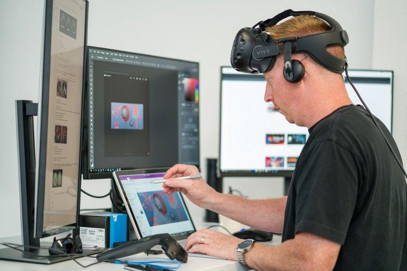 Новый концепт Opera Glass от HP позволяет быстро погружаться в VR