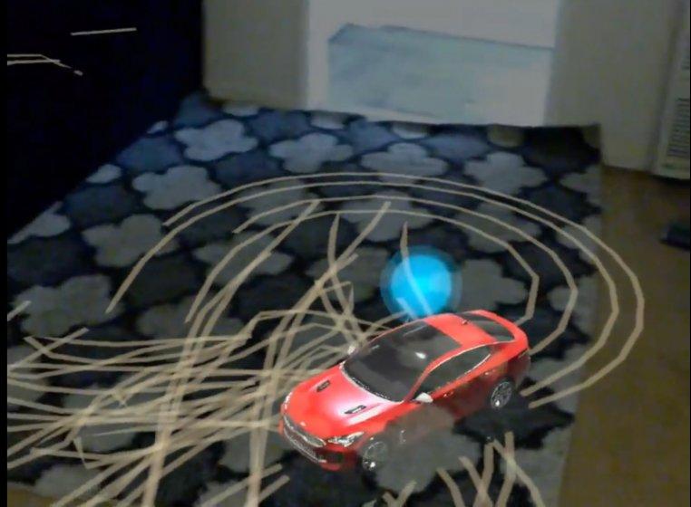 RelayCars для Magic Leap позволяет перенести в реальный мир Kia Stinger