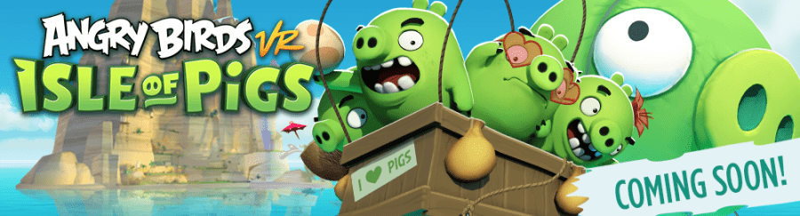Rovio и Resolution Games работают над Angry Birds VR: Isle of Pigs