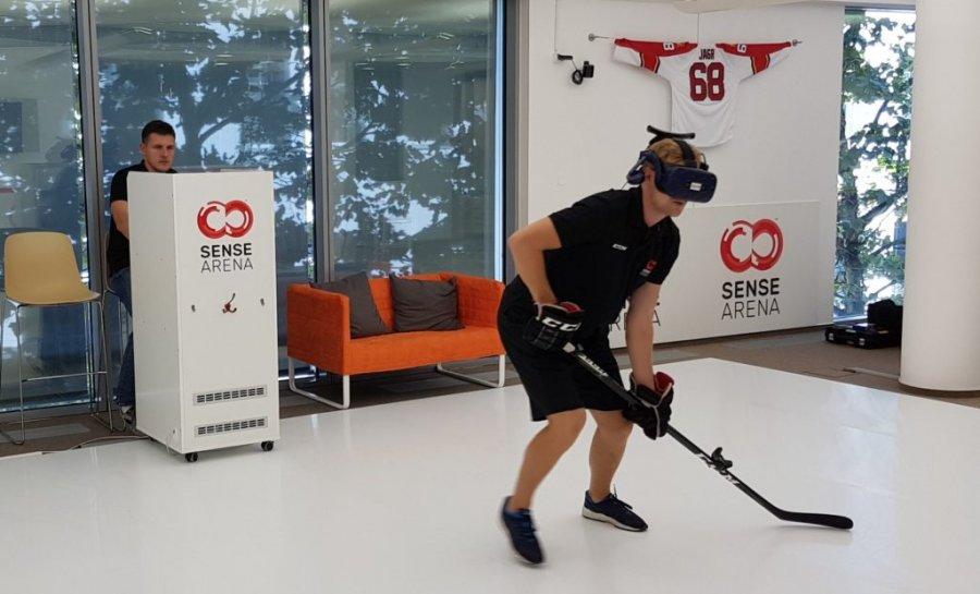 Развиваем мышечную память с помощью хоккейной VR тренировки
