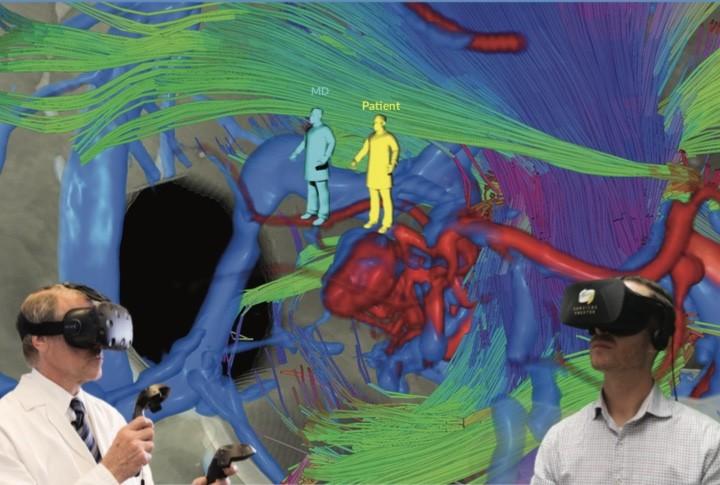 Пациенты совершают перед операцией VR тур по собственному мозгу