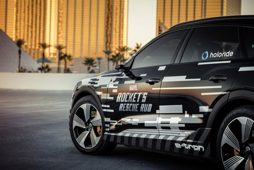 Основанный Audi стартап создает VR решение для пассажиров