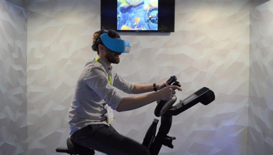 CES 2019: NordicTrack создает VR фитнес тренажер на базе Vive Focus