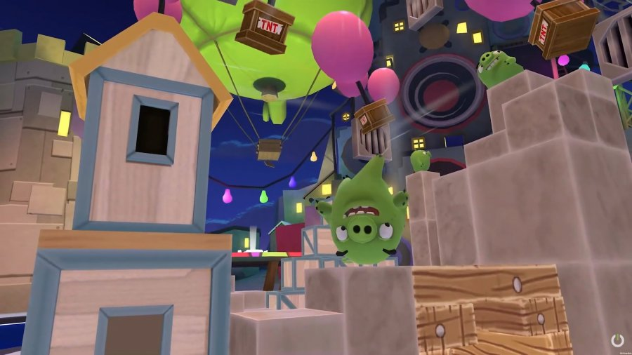 Angry Birds VR – отличная адаптация любимой игры