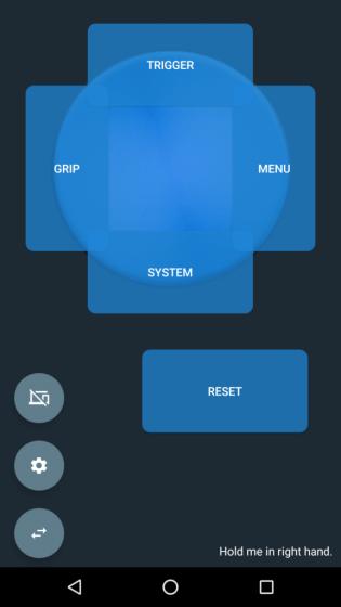 VRidge Controller от RiftCat превращает смартфон в VR контроллер