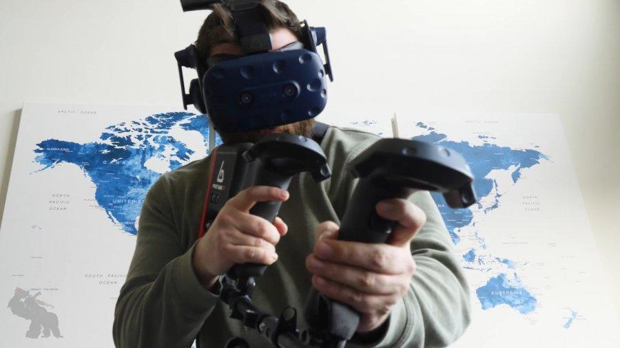На Kickstarter скоро появится гаптическое VR ружьё «ForceTube»