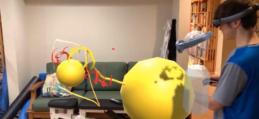 Spatiate приносит на Magic Leap One многопользовательскую AR живопись