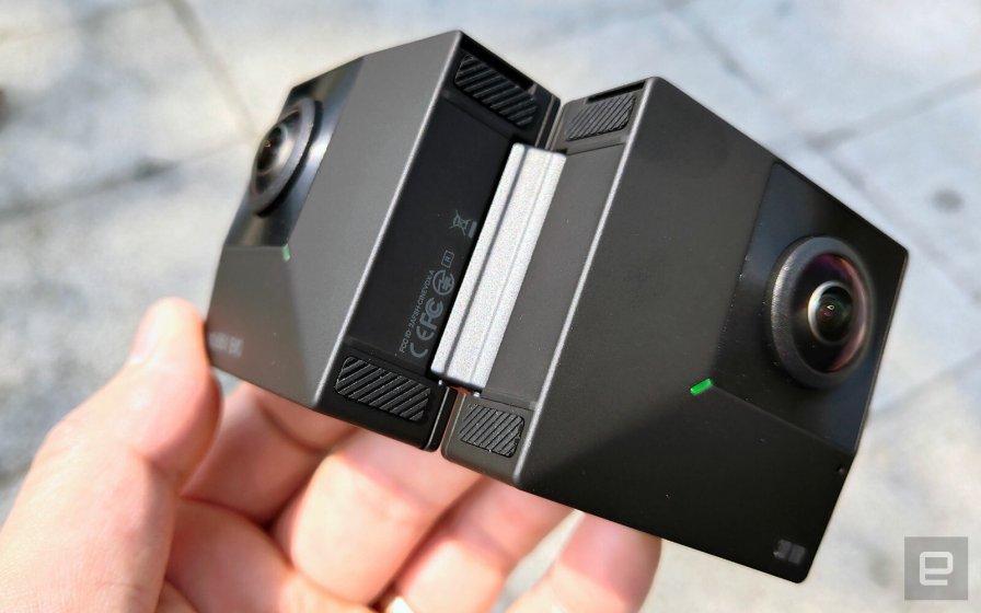 Insta360 EVO: складная камера для 180º или 360º 3D снимков
