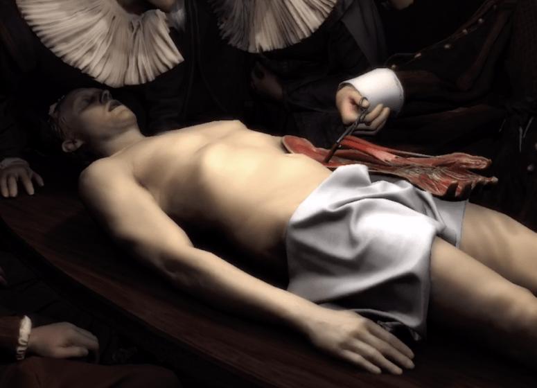 Remembering Rembrandt воссоздает картину Рембрандта в AR