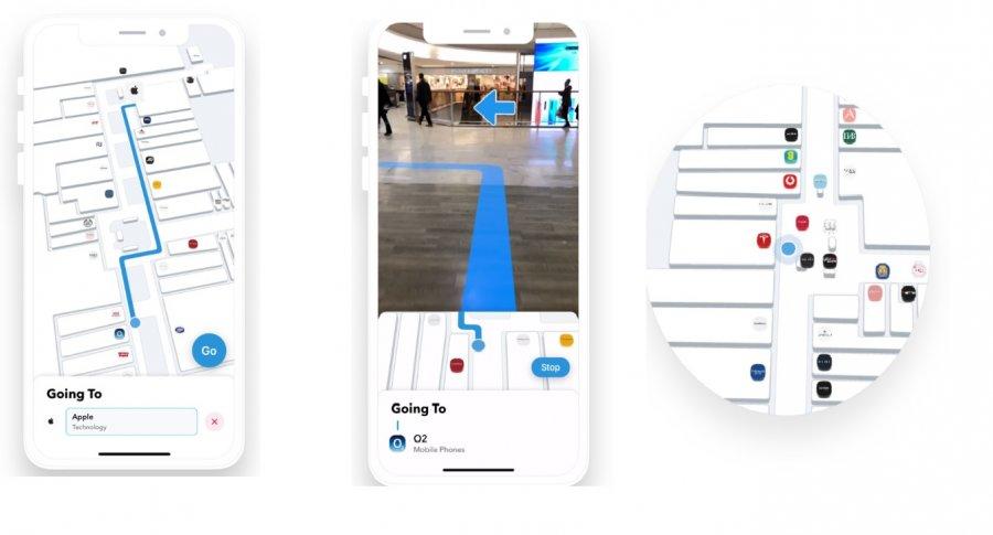 Dent Reality делает возможной AR навигацию в помещениях