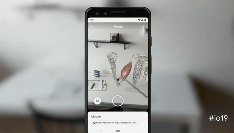 Google демонстрирует новые AR функции для своих приложений Search и Lens