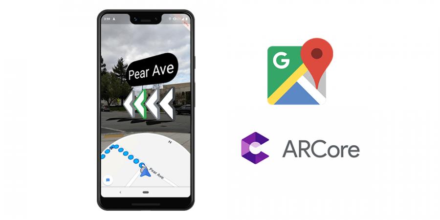 На смартфонах Google Pixel появятся AR Карты
